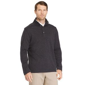 Men's Van Heusen Classic-Fit Button Fleece Sweater